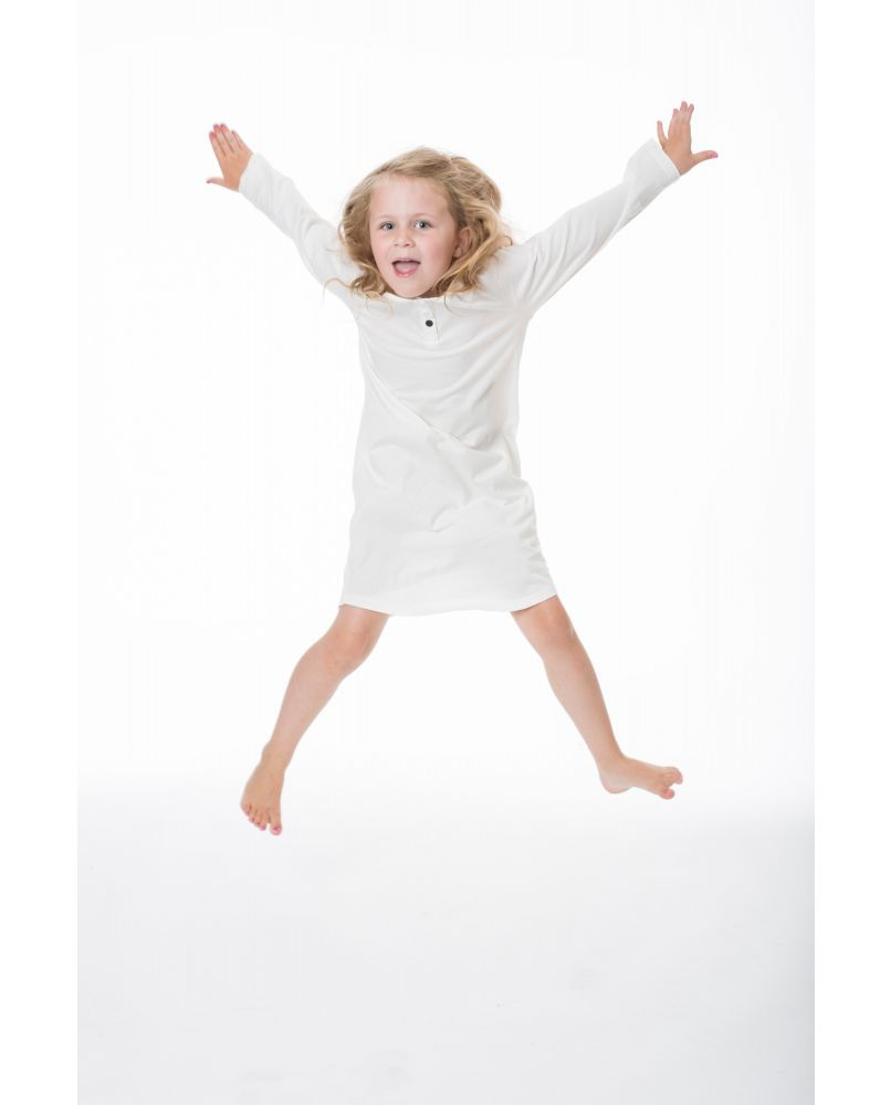 THE SLEEPY COLLECTION KIDS NIGHTIE WHITE