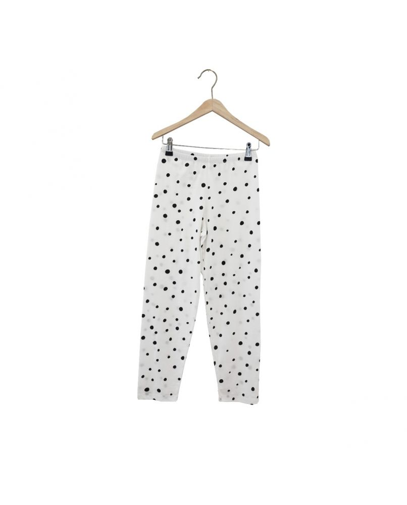 THE SLEEPY COLLECTION KIDS JERSEY PANTS DOTS