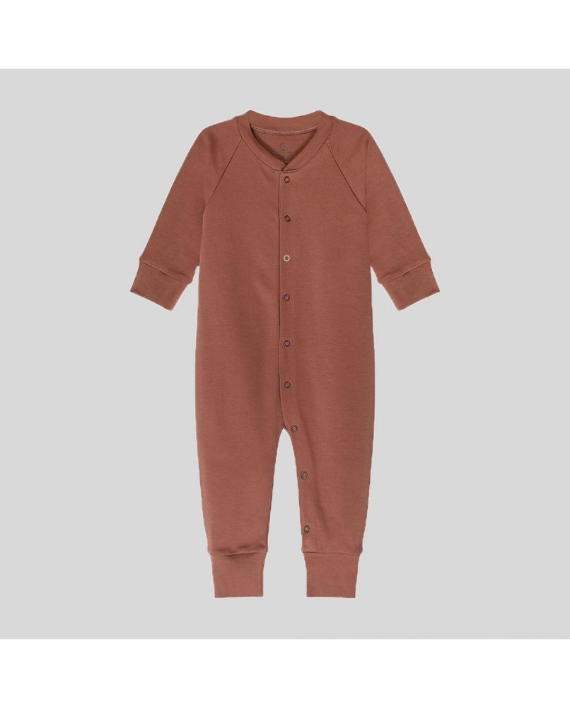 Baby Sleepsuit - Rust