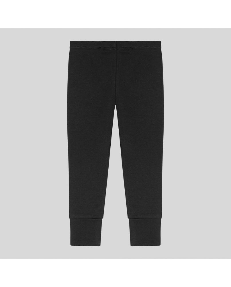 Kids pyjama pants in black